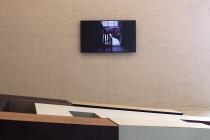 Séverine Hubard. Matthieu Martin. Vue de l'exposition. Dedans-Dehors. Collection FRAC Normandie Caen. Le Pavillon, Caen. 2017. © David Michael Clarke.