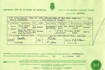 #00037. David Michael Clarke & Nicola Ann Gange. 6 August 1988. Southampton, Hampshire.