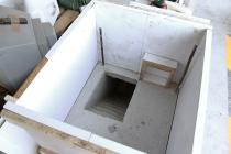 Le chantier. Subterranean Duplex Solution. David Michael Clarke. Residence AFIAC / APAJH 81 La Planésié, Castres. De septembre 2015 au janvier 2016.