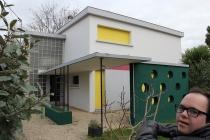 Visite de Royan. Subterranean Duplex Solution. David Michael Clarke. Residence AFIAC / APAJH 81 La Planésié, Castres. De septembre 2015 au janvier 2016.
