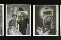 David Liaudet. La Bretagne. Vue de l'exposition: Flying Black Cow Utopia Club. Galérie du Dourven. Trédez-Locquémeau. 2014. Photo: Hervé Beurel.
