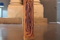 Proposition de Mathilde Gréard dans l'exposition Hotel Dynamite. La Chapelle Saint Jacques. Saint Gaudens. 2018. © David Michael Clarke ADAGP.