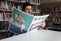 Journal : «Post-Post Avant-Poste» Rédacteur-en-chef : Valentin Alizer. L'Artothèque de Vitré & ESAD-TALM Le Mans, Vitré. 2019.