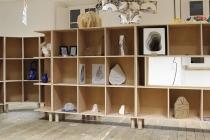Installation dans l'atelier de l'école d'arts plastique, Le Kiosque, Mayenne. © David Michael Clarke ADAGP.
