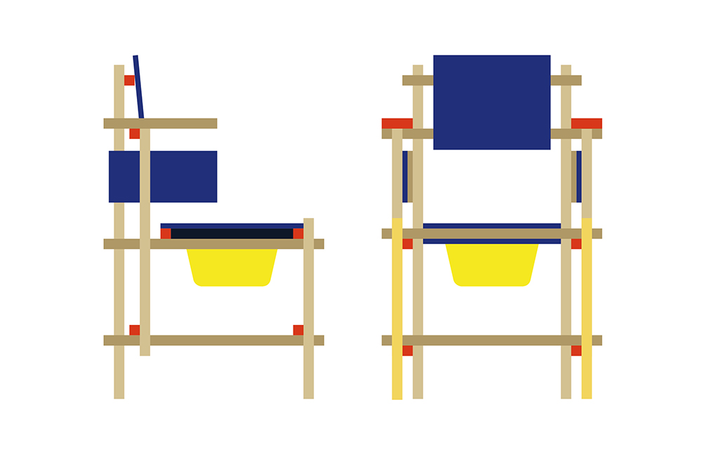 Plans for the Rietveld Montauban chair.